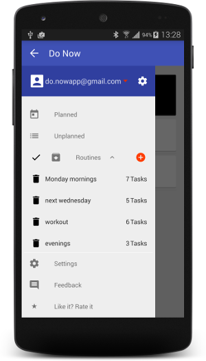 Mobile Apps: Do Now - Time Blocker (for Android)